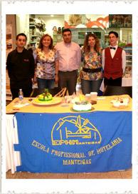 Demonstração de Cake Design pela EPHM - Serra Shoping, Covilhã