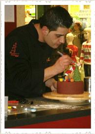 Demonstração de Cake Design no Alegro