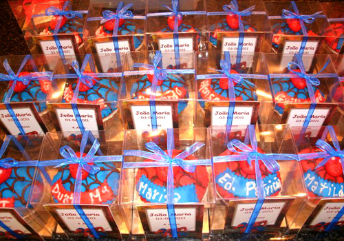 """Cup-Cakes """"Spider Man"""""""