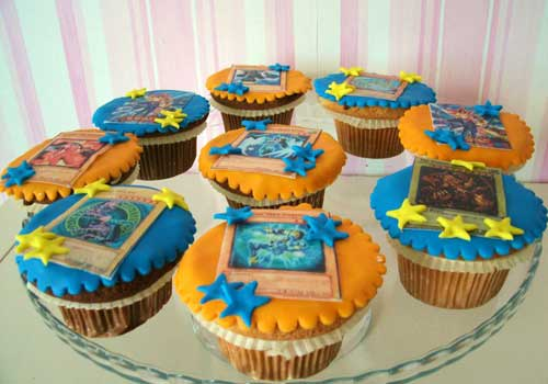 Cup-Cakes YU-GI-OH