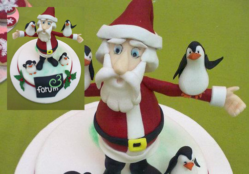 Pai Natal com Pinguins – Fórum